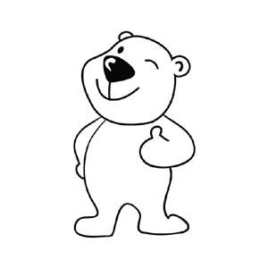 """""""环保嘉年华""""吉祥物——可爱的北极熊""""乐乐"""""""