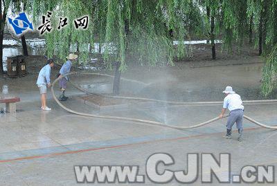 武汉水位突破25米