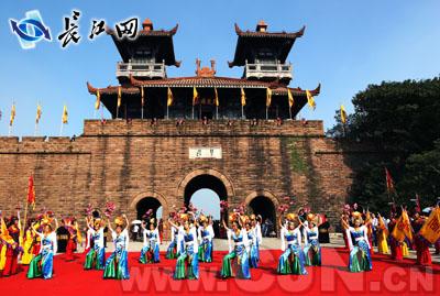 十一黄金周 武汉东湖磨山推出楚文化大餐