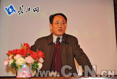 中南民族大学工商学院院长孙松发致辞-中南民大工商学院着力打造 第