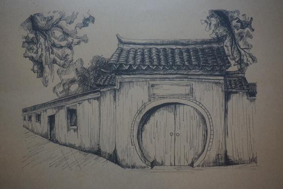 武汉大学生在宁波手绘海上丝绸之路