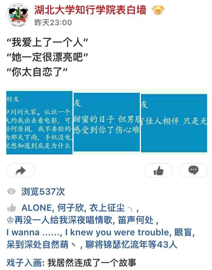 情人节武汉某高校竞选墙引表白_武汉24拍档海报关注初中生小时图片