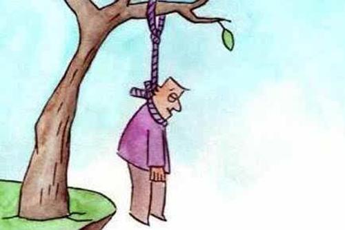 男子酒后与妻发生口角 一言不合竟上吊自杀图片