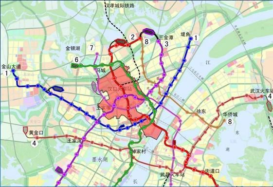 汉孝城际铁路地图