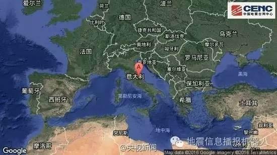 意大利6.1级地震已致37人死亡,至少100人失踪