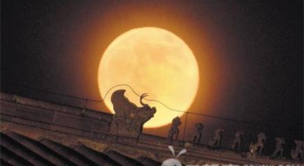 外国的月亮比中国的圆