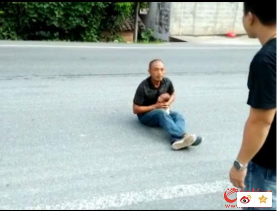 广州/男子劫持孩子扬言要掐死孩子