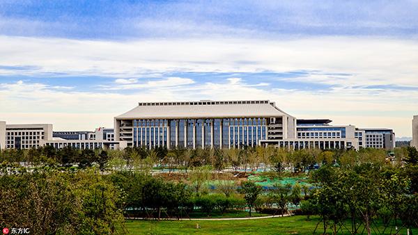 北京城市副中心站综合交通枢纽承担着组织城际交通和城市交通转换的