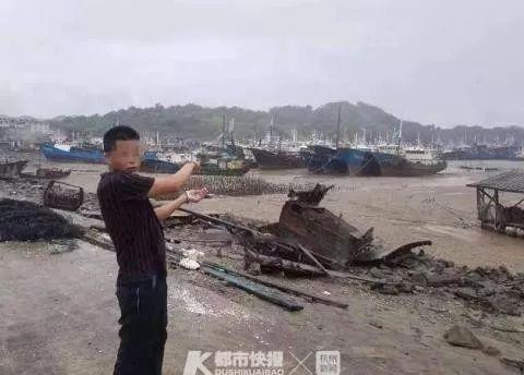 犯罪嫌疑人想趁台风天透透气,结果……
