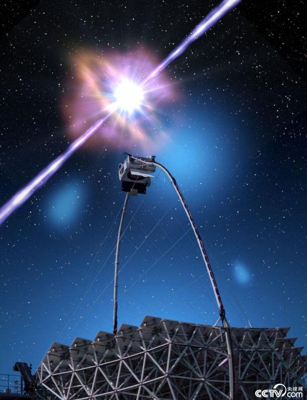 太空发生伽马射线暴,产生史上最亮的光