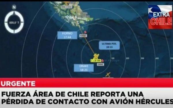 智利空军一架飞往南极的军机失联,机上共有38人