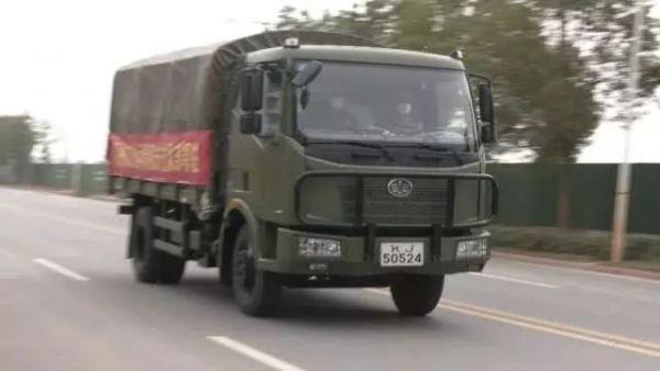 中央军委批准!军队承担武汉生活物资配送供应任务