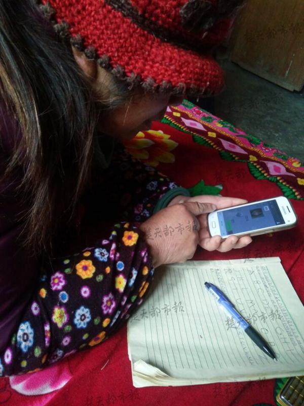 这是母亲的手,满是辛勤劳作的印记