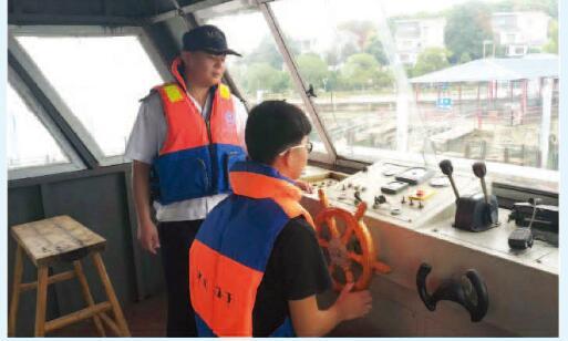 水上交通安全知识进校园