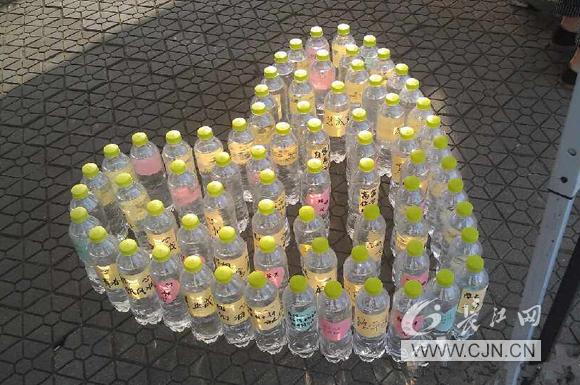 矿泉水瓶子手工制作的火车
