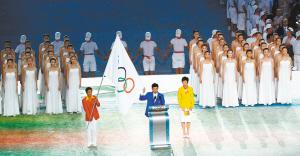 两大湖北明星闪耀北京奥运开幕式