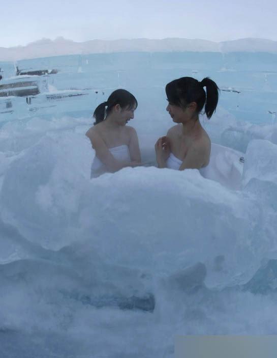 日本推出冰窖旅馆 深受美女们欢迎 社会纪实