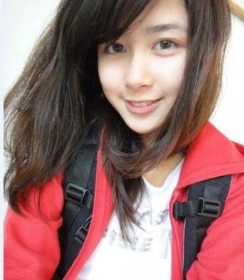 宜兰版奶茶MM慕蓉爆美照被誉为台湾校花高中洛阳职业高中图片
