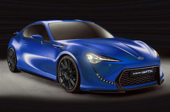 新浪汽车讯 全新斯巴鲁brz将搭载一台2.0升水平对置四缸发高清图片