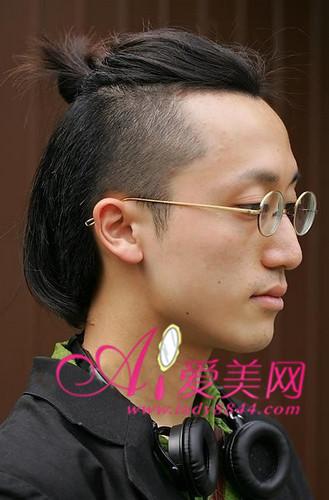 解除牌子魔咒男士发型释放魅力光棍_推荐_新烫发剂时尚生活图片