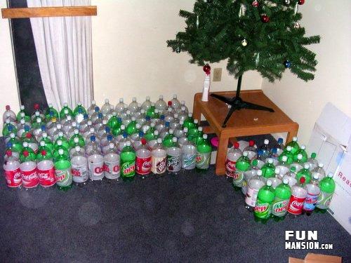 用可乐瓶自制小划子!牛人!