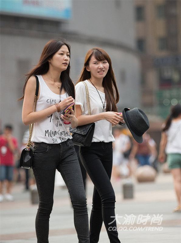 武汉重庆成都女人街拍PK谁是你心中美女_美女的v女人/最爱战争图片