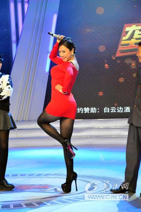 芙蓉姐姐现场表演即兴舞蹈