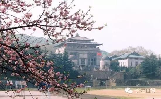 武汉大学校园景色  资料图