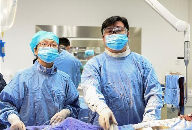 血管介入手术步骤
