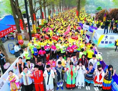 此次比赛,由东湖风景区管委会和武汉旅发投集团联合主办,是中国田径协