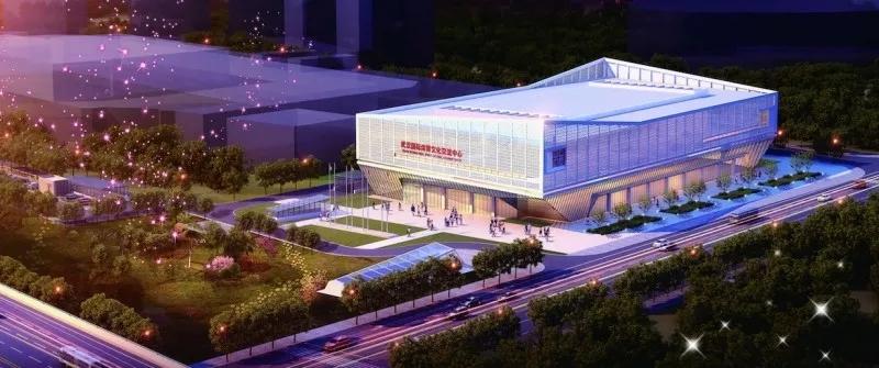 沌口板块    安排10处场馆设施项目,用于开闭幕式、新闻发布、赛事转播及田径、排球、游泳、跳水、沙滩排球、射击、射箭、马术、现代五项、高尔夫球、跳伞等比赛项目。  武汉体育中心   位于武汉经济技术开发区车城北路58号,包括体育场、体育馆、游泳馆等部分,体育场设观众席位56000座,体育馆设观众席位12000座,游泳馆设观众席位3500座。该中心曾承办第五届女足世界杯,2012年汤姆斯和尤伯杯羽毛球团体赛及2015年亚洲田径锦标赛等赛事。