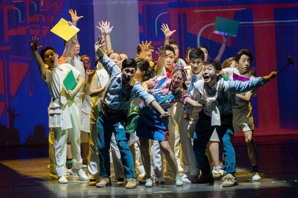 京剧唱出创业故事,《光之谷》30日首演