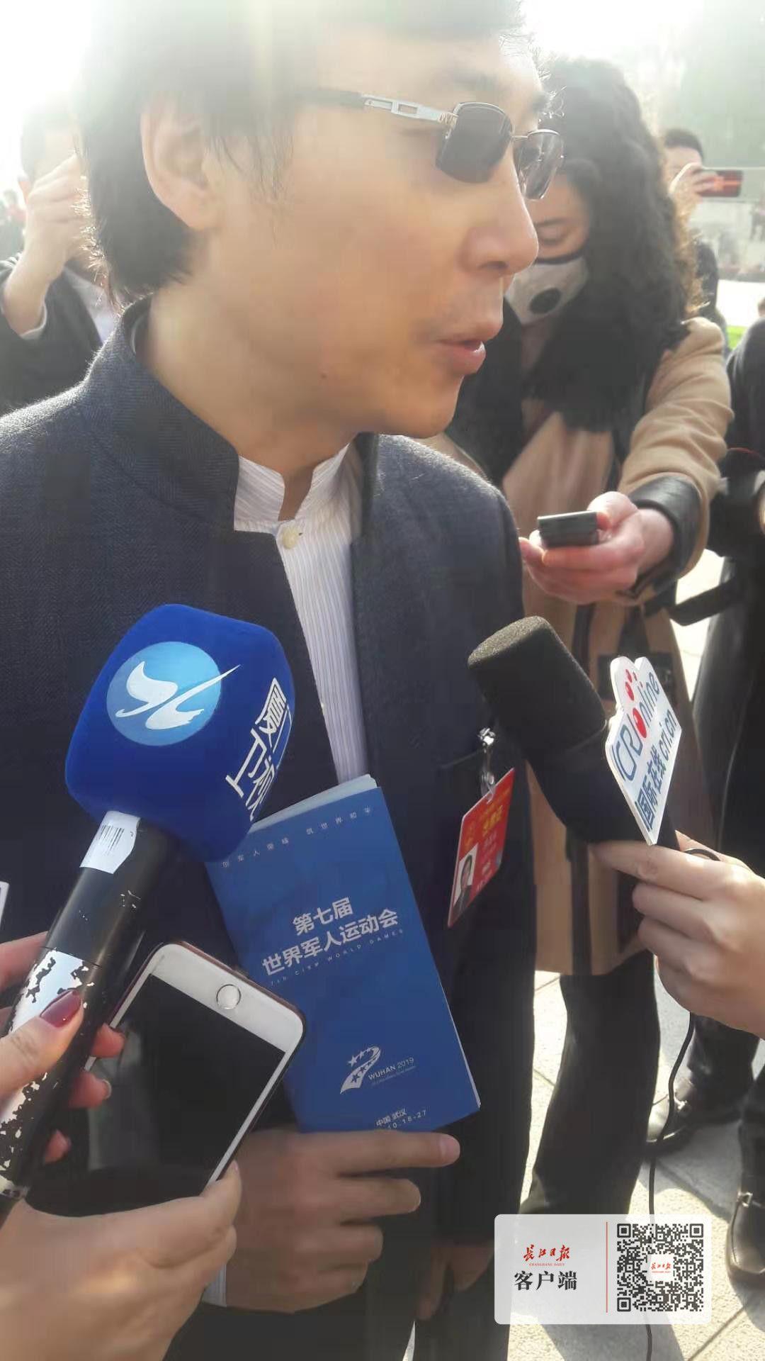 全国人大代表、上海音乐学院院长廖昌永:军运会一定会让武汉变得更美好