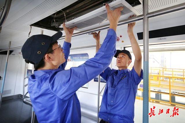 迎接夏日,武汉地铁空调大体检