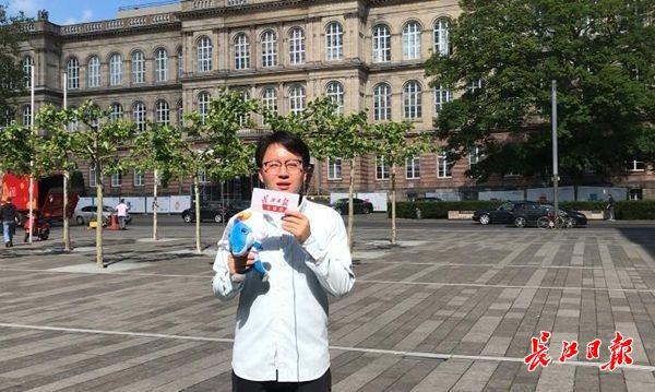 """""""倒计时""""100天之际,长江日报全球拍团队16个国家推介武汉军运会"""