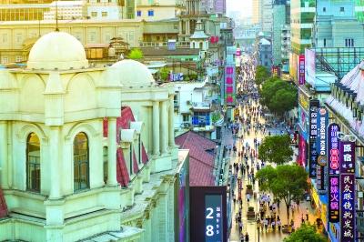 """江汉路步行街迎""""蝶变"""",这里将成武汉首个国"""