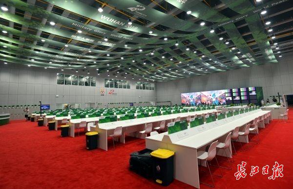 武汉军运会国际广播电视中心运行启用,届时将精彩赛事传播到全世