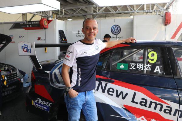 澳门籍冠军车手艾明达:武汉拥有国内最棒的街道赛