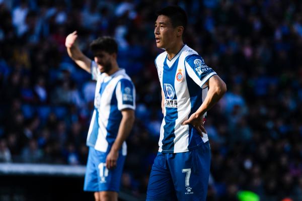 西班牙媒体报道,目前效力于西甲西班牙人的中国球员武磊确诊新冠肺炎
