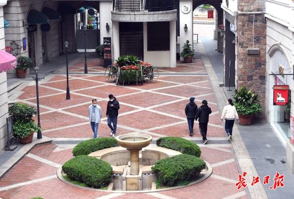 网上怎么能赚钱:光谷世界城广场和步行街恢复营业