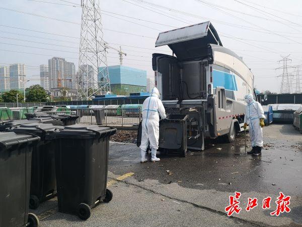 垃圾桶清洗车来了!全封闭自动消杀,不会有污水飞溅