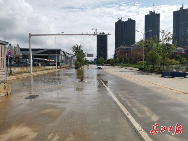 这些路面渍水消退,车辆通行正常丨图集