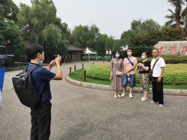 相隔179天,第一个外省旅行团来汉,游客齐赞东湖美,期待登临黄鹤楼