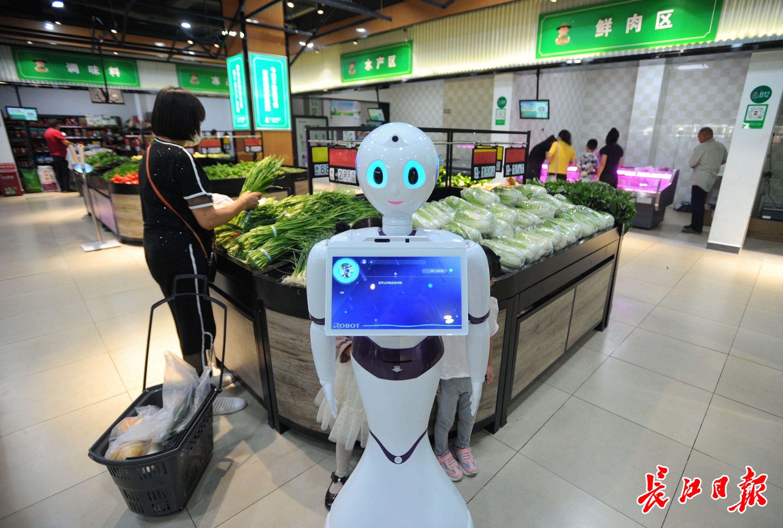 黄陂首家智慧菜场开业了:环境升级,菜价不涨