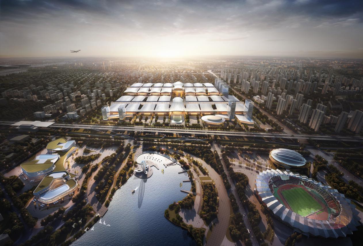 全球顶级会展项目在汉开工,将建室内净展面积世界第一的会展中心