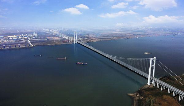 湖北又多了一条过江通道,燕矶长江大桥开工