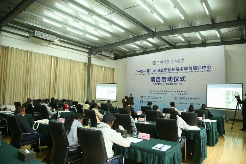 """""""一带一路""""国家25名学员,在汉学习水生态保护经验"""