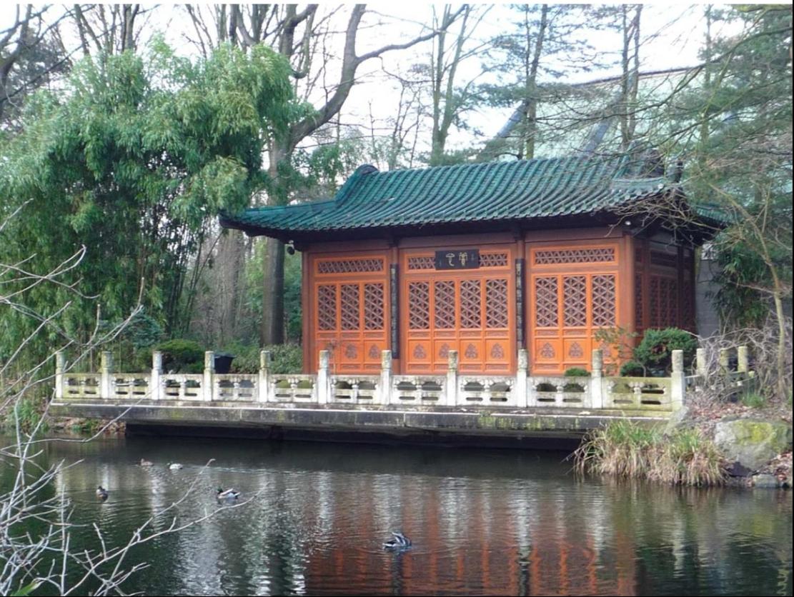 36年前赠送给德国友城的中式花园亟待维修,武汉