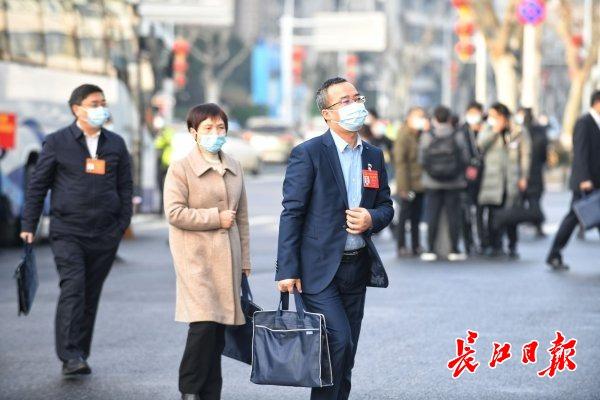 湖北省第十三届人民代表大会第五次会议开幕
