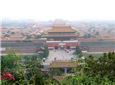 景山顶上看故宫